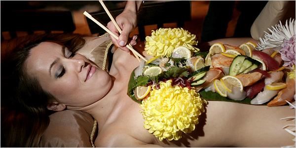 Sushi for Breakfast - Nom!
