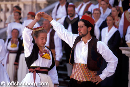 Why can't I dress up and rock out like these Dubrovnikans?