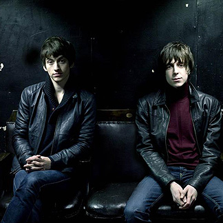 The Las Shadow Puppets - one of these dudes is Alex Turner, 10 points if you can guess