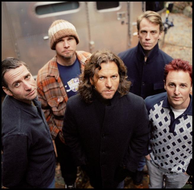 Pearl Jam - Stone Gossard, Jeff Ament, Eddie Vedder, Matt Cameron and Mike McCready