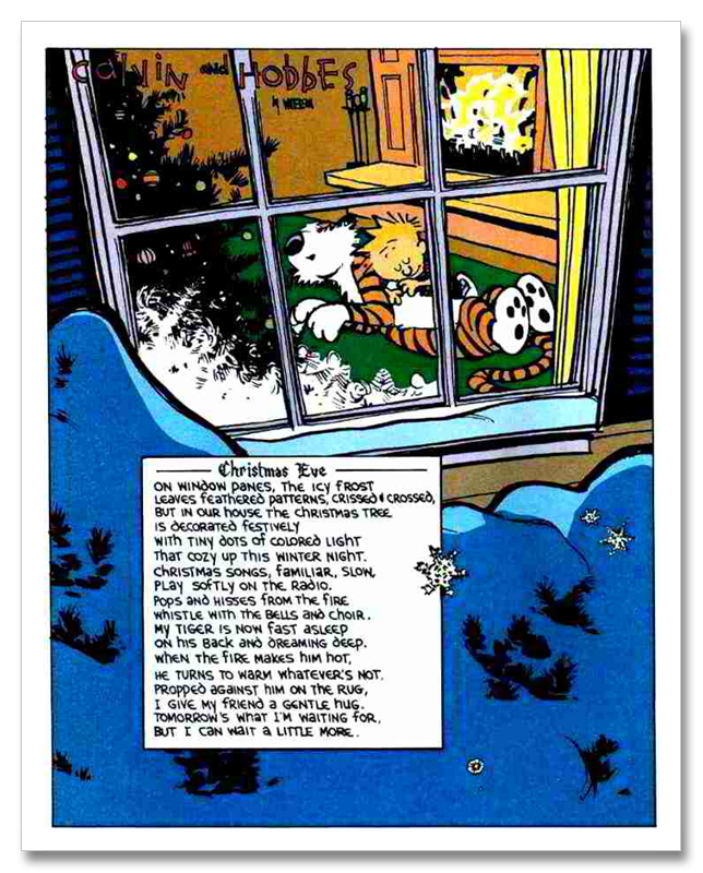 my top 5 calvin amp hobbes christmas cartoons them s