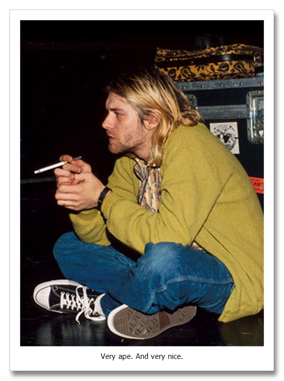 Nirvana - Smells Like Teen Spirit / Even In His Youth